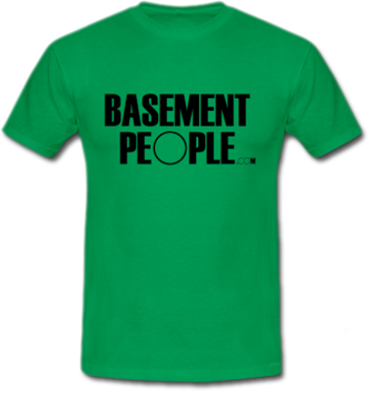 many of you have often enquired about getting basementpeople t shirts